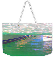 Weekender Tote Bag featuring the photograph Reflections by Nareeta Martin