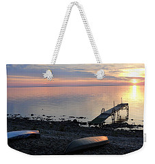 Restful Waters Weekender Tote Bag