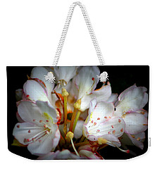Rhododendron Explosion Weekender Tote Bag