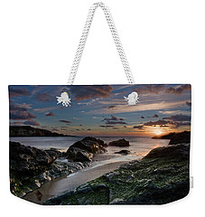 Weekender Tote Bag featuring the photograph Rhosneigr Sunset  by Beverly Cash
