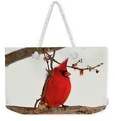 Righteous Cardinal Weekender Tote Bag