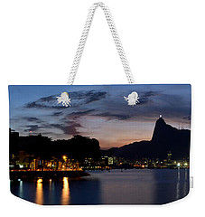 Rio Skyline From Urca Weekender Tote Bag