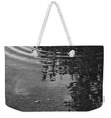 Weekender Tote Bag featuring the photograph Rippled Tree by Kume Bryant