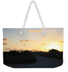 Rise And Shine Miami Weekender Tote Bag