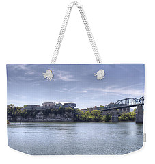 River Bluff Weekender Tote Bag by David Troxel