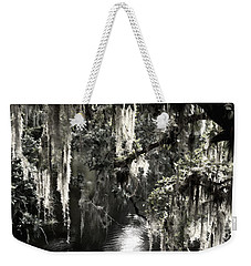 Weekender Tote Bag featuring the photograph River Branch by Steven Sparks