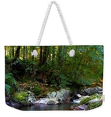 River In Cawdor Big Wood Weekender Tote Bag