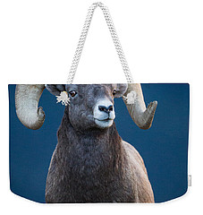 Rocky Mountain Big Horn Weekender Tote Bag by Ronald Lutz