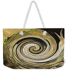 Weekender Tote Bag featuring the photograph Rocky Road by Cindy Manero