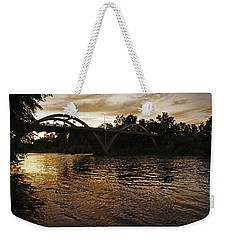 Rogue River Sunset Weekender Tote Bag