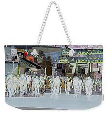 Weekender Tote Bag featuring the photograph Rolling Down Bullard Street by Vicki Pelham