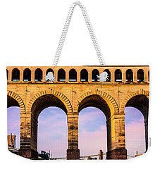 Roman Arches Weekender Tote Bag by Semmick Photo