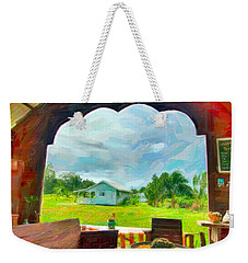 Room With A View Weekender Tote Bag