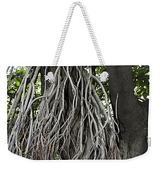 Weekender Tote Bag featuring the photograph Roots From A Large Tree Inside Jallianwala Bagh by Ashish Agarwal