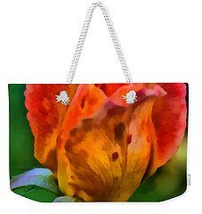 Rose Weekender Tote Bag by Lynne Jenkins
