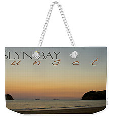Weekender Tote Bag featuring the photograph Rosslyn Bay Sunset by Vicki Ferrari