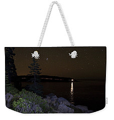 Rounding Otter Point Weekender Tote Bag