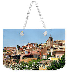 Roussillon In Provence Weekender Tote Bag by Carla Parris