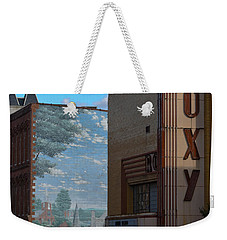 Roxy Theater And Mural Weekender Tote Bag