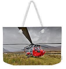 Royal Navy Sar Sea King Xz920 Glencoe Weekender Tote Bag