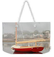 Ruby Red Catboat Weekender Tote Bag by Roupen  Baker