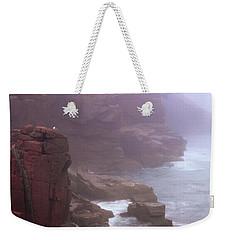Rugged Seacoast In Mist Weekender Tote Bag