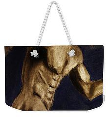 Running Man Weekender Tote Bag by Michael Cross
