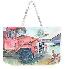 Rusty Truck Weekender Tote Bag