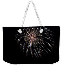 Weekender Tote Bag featuring the photograph Rvr Fireworks 10 by Mark Dodd
