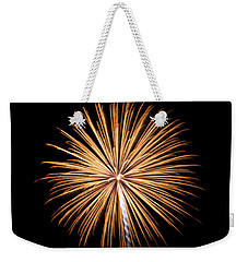 Weekender Tote Bag featuring the photograph Rvr Fireworks 27 by Mark Dodd