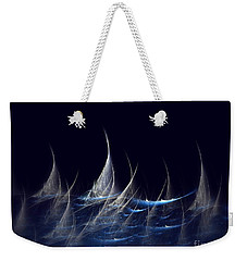 Sailboats Weekender Tote Bag by Klara Acel