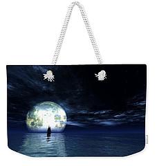 Sailing At Night... Weekender Tote Bag by Tim Fillingim
