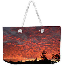 Weekender Tote Bag featuring the photograph Sailor's Delight by Laurel Best