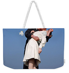 Sailor's Kiss Weekender Tote Bag by Holly Blunkall