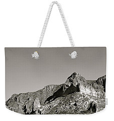 Salt River Black And White Weekender Tote Bag