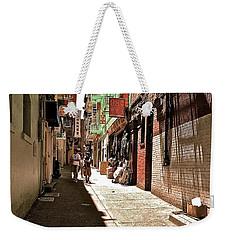 San Fran Chinatown Alley Weekender Tote Bag by Bill Owen