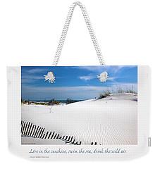 Sand Dunes Dream 3 Weekender Tote Bag