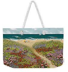Sand Path Weekender Tote Bag