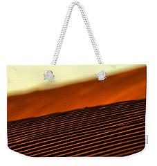 Sand Rows Weekender Tote Bag