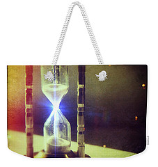 Sand Through Hourglass Weekender Tote Bag