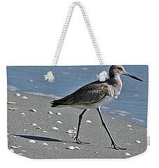 Sandpiper 1 Weekender Tote Bag by Joe Faherty
