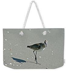 Sandpiper 3 Weekender Tote Bag by Joe Faherty