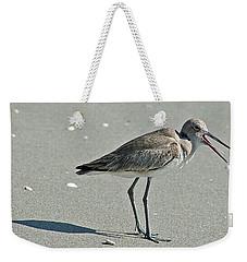 Sandpiper 4 Weekender Tote Bag by Joe Faherty