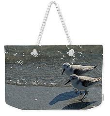 Sandpiper 5 Weekender Tote Bag by Joe Faherty