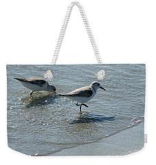 Sandpiper 7 Weekender Tote Bag by Joe Faherty