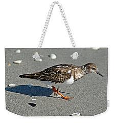 Sandpiper 9 Weekender Tote Bag by Joe Faherty