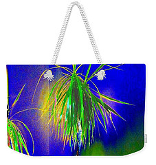 Weekender Tote Bag featuring the digital art Sanguinity by Will Borden