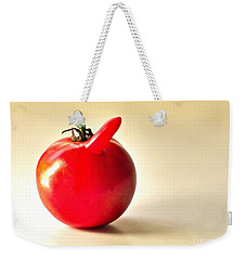 Saucy Tomato Weekender Tote Bag by Sean Griffin