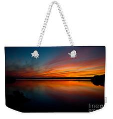 Saying Goodnight Weekender Tote Bag