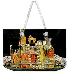 Weekender Tote Bag featuring the photograph Scents Of A Woman by DigiArt Diaries by Vicky B Fuller